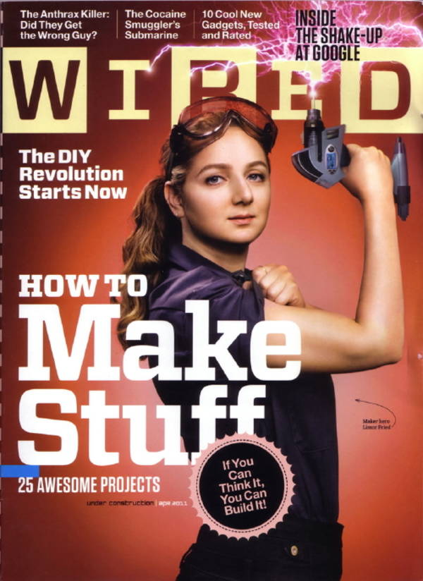 Limor Fried on Wired