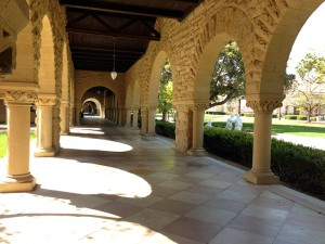 Very surreal to walk amongst these arched breezeways.