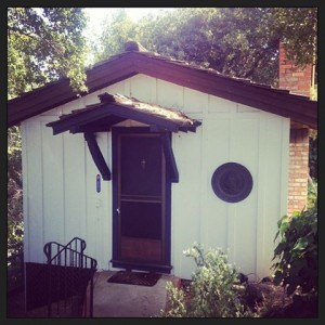 I'm renting this quaint little Hobbit house.