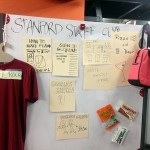 We chose to do a physical prototype, the Stanford Staff Club. It's a place where staff can convene.