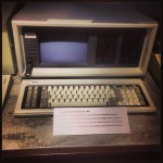 Another of my former employers. This is a Compaq Portable.