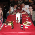 This is one for the books. Jon, Maira, Mairin, Kristin and I celebrating with some bbq at SXSW 2009.
