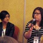 Maira Garcia and Anna Tauzin speak at SXSW 2011.