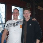 Philip Hadley will long remember posing for this shot with Mark Zuckerberg. Philip is now Client Success Manager for Blackbaud.