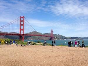 Biking Golden Gate Bridge