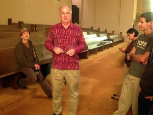 Brewster Kahle, the founder of the Internet Archive, gives a personal tour.