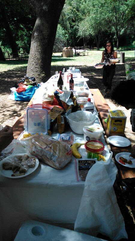 Food fest picnic at Foothills Park.